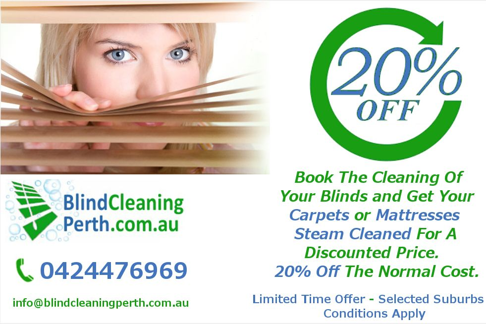 Blind Cleaning Deals